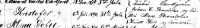 1890 Baptism Record - Kristofer